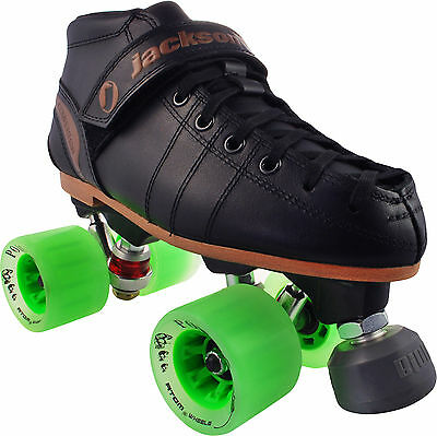 Jackson Competitor Eagle Poison Roller Derby Speed Skates Ladies Size 4-11