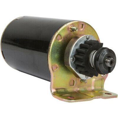 New Starter for Briggs 497401 494198 494990 11-18 HP with FREE GEAR STR-1005A