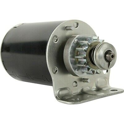 New Starter for BRIGGS and Stratton 7 thru 18 HP with STEEL GEAR 693551 SE501848