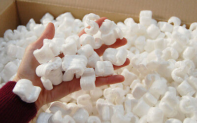 BOXED PACKING PEANUTS 4.5 Cubic Ft. LOOSEFILL/VOID FILL * HAMPER FILLING * CHIPS