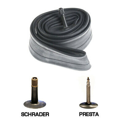 Replacement Cycle Inner Tubes Schrader Presta Valve Tyre Rubber Tube Bike Packs
