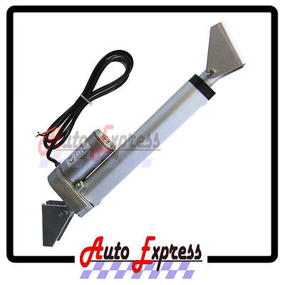 "Heavy Duty 4"" Linear Actuator w/Tilt Brackets & Mounting 12V DC 225lbs Max Lift"