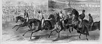 Horse Racing, Opening Race At The Jerome Park, Fordham, New York, The Start