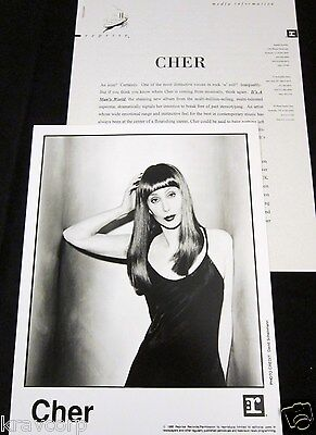Cher 'It'S A Man'S World' 1995 Press Kit--Photo