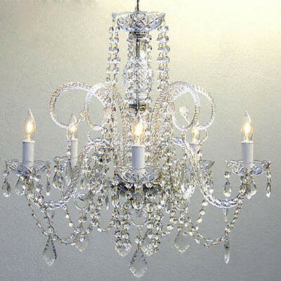 """Authentic Crystal Chandelier Chandeliers Lighting H25"""" x W24"""""""