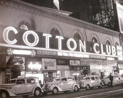 Cotton Club - New York City, 8x10 B&W Photo