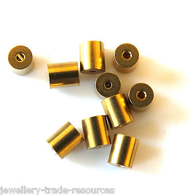 10x TAPERED CLOCK BUSH BUSHES INSIDE 1mm OUTSIDE 3.3mm - 3.4mm x 4mm LONG