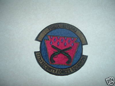 Patch Military Us Air Force 171St Security Forces Squadron Hook Lo Back For Acus