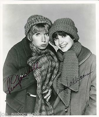 Laverne & Shirley SIGNED cast photo Cindy Williams Penny Marshall JSA COA