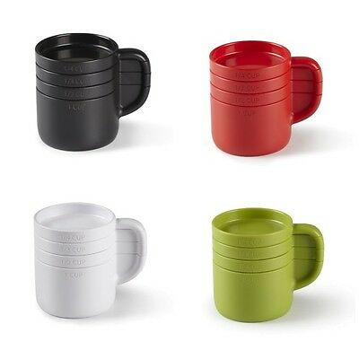 Umbra CUPPA Cup Shape Stacking Measuring Cup Set choice Avocado,Black,Red,White