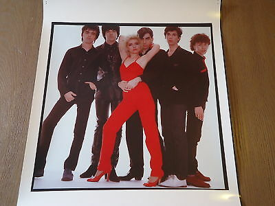 BLONDIE Original Photo ROCK MUSIC Debbie Harry  Annie Leibovitz RARE collectible