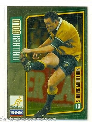 2000's Weet-Bix Wallaby Gold #13 Stirling Mortlock
