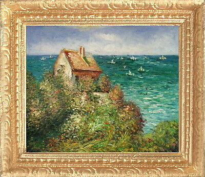 Monet PARIS PARK Miniature Framed Dollhouse Picture FAST DELIVERY MADE IN USA