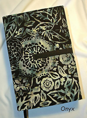 "7.5 x 4"" Fabric Book Covers - Adjustable Thickness, Choose Print, Made in USA"