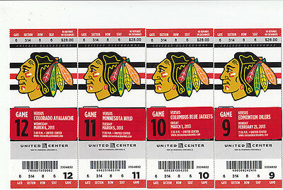 1 Chicago Blackhawks Vs Columbus Blue Jackets Ticket Stub 3/1/13 4-3 Win