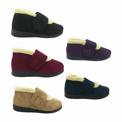 Ladies Slippers Panda Emee Slipper Boot Size 5-10 Burg Navy Camel Purple Black