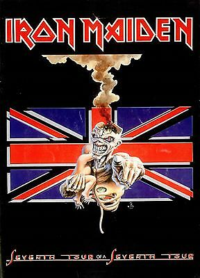 Iron Maiden-Seventh Tour of a Seventh Tour poster