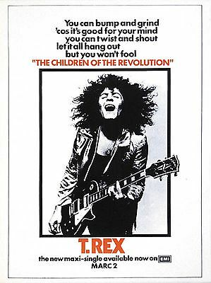 T.REX-The Children Of The Revolution, Promo Poster-Repro..print