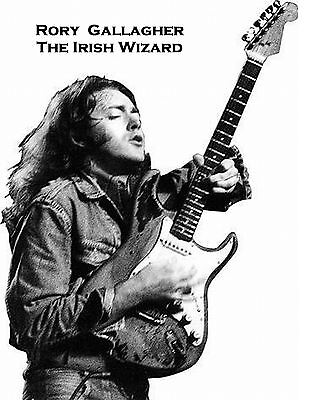 Rory Gallagher-The Irish Wizard-Poster Repro..
