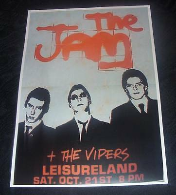 The Jam-Ireland-Leisureland Galway,21st October 1978-Concert Poster