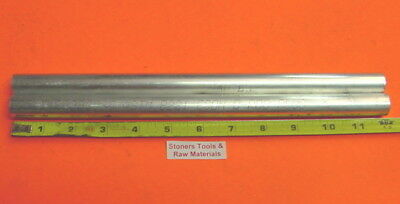 "2 Pieces 3/4"" ALUMINUM ROUND 6061 ROD 12"" long Solid T6511 .75"" New Lathe Stock"