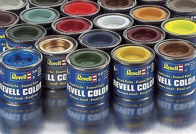 (12,07€/100 ml) Revell Email-Color-Farben 14 ml Dose, 88 Farben Auswahl, Airbush