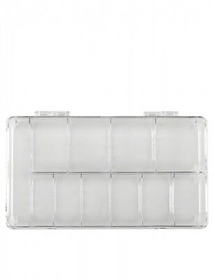 EMPTY NAIL TIP BOX - LARGE - HOLDS 500 TIPS craft storage