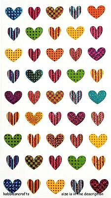 Ek Success Sticko Stickers -  Colourful Hearts - Colorful Heart Repeats