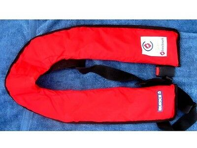 Burke Pfd Type 1 Inflatable Safety Vest With Co2 Cartridge  - New
