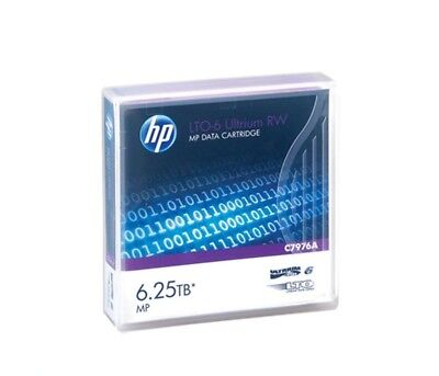 20x HP LTO-6 Ultrium 2.5TB / 6.25TB RW Data Cartridge P/N: C7976A