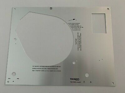 Thorens Td 160 Super Face Plate New