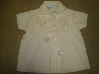 Vintage 1970s Knit Style Easter Dress Size 18 Months A135
