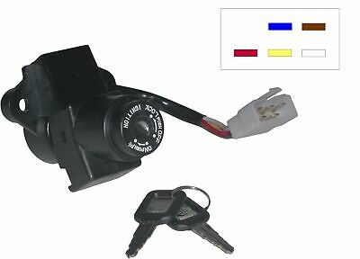 Ignition Switch Without Resistor For Kawasaki GPZ 500 S 1994