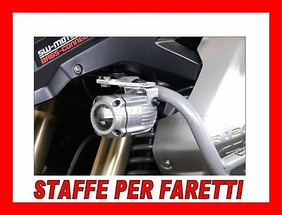 Kit Staffe Bmw R1200 Gs X Faretti Alogeni Hawk Fog Light Moto Nsw0756310000/s