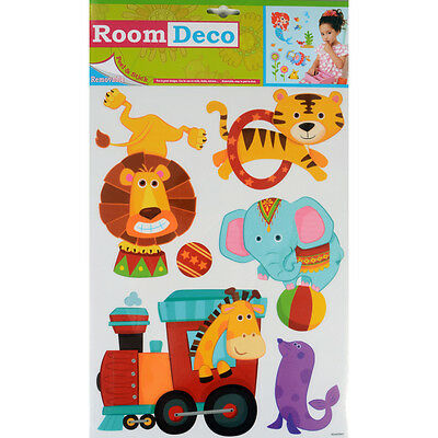 Wholesale Job Lot 48 Packs New Room Decor Removable Wall Stickers - Animals