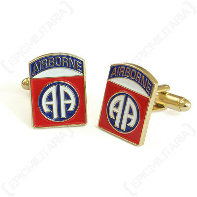 Ww2 Style American 82Nd Airborne Division Cufflinks - New