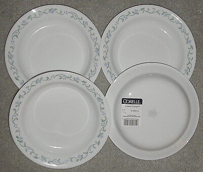 CORNING CORELLE COUNTRY COTTAGE LOT OF 4  RIM SOUP BOWLS NEW