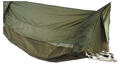 hammock jungle mesh netting coated roof olive drab one person rothco 2361