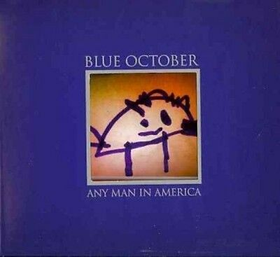 Any Man in America - October Blue New & Sealed Compact Disc Free Shipping