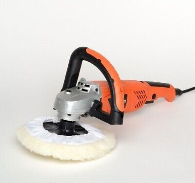 """7"""" Electric Polisher Buffer Auto Sander Boat Automotive Tools 6 Variable Speed"""