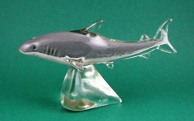 Murano Art-Glass Great White Shark Figurine