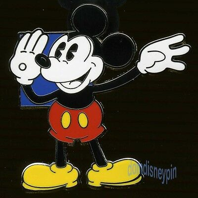 Disney Pin *Oh Mickey!* Classic Booster Collection - Blue Square (Waving)!