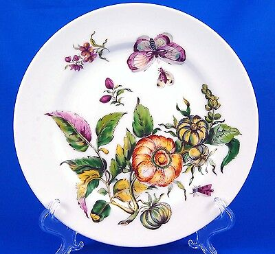 Mottahedeh THE EXOTIC PLANT (Floral B) Luncheon Plate 9.25 in. Various Floral