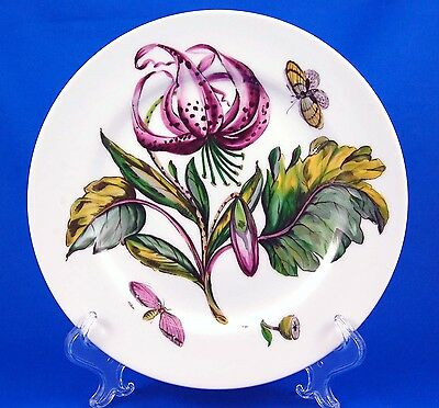 Mottahedeh THE EXOTIC PLANT (Floral E) Luncheon Plate 9.25 in. Various Floral