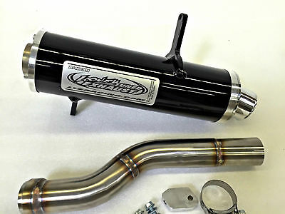 Looney Tuned Exhaust LTE Black Slip On Canam Can am Outlander 800 1000 XMR 12+