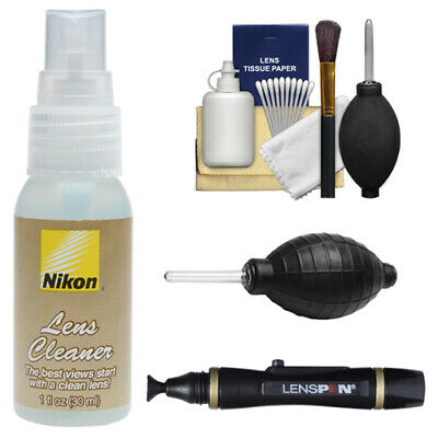 Nikon Lens Cleaning Kit Fluid Bottle for D4 D600 D800 D3200 D5100 D5200 Camera