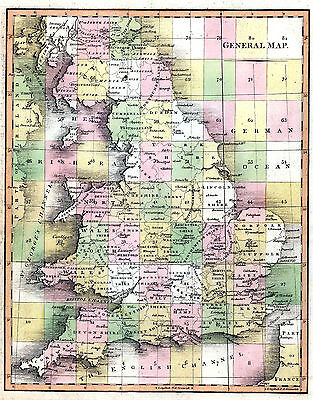 PRINT/SELL 18thc ENGLAND MAPS - High Res, Restored, DVD