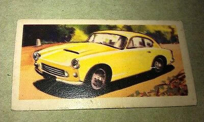 AC GREYHOUND  - BT Limited Tea Trade Card UK 1960s