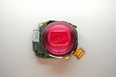 Nikon Coolpix S6100 compacts LENS ZOOM UNIT ASSEMBLY OEM PART  Red