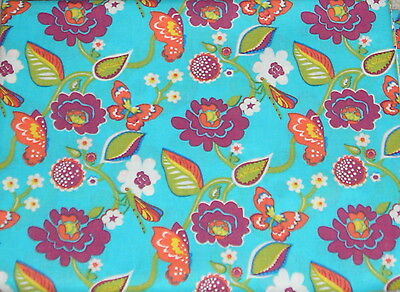 Longaberger Sisters  Fabric Summer Lovin  5 Yards New In Pkg.